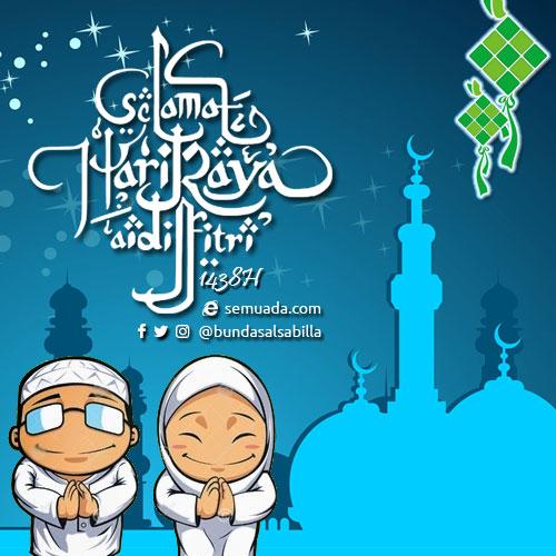 Semuada.com mengucapkan Selamat Hari Raya Idul Fitri 1438H